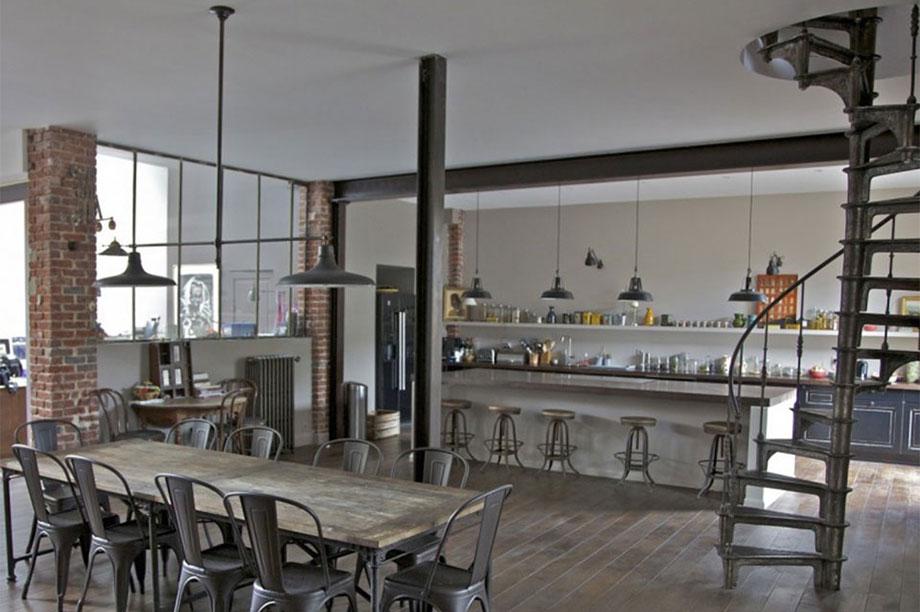 Decora tu vivienda con estética industrial 2