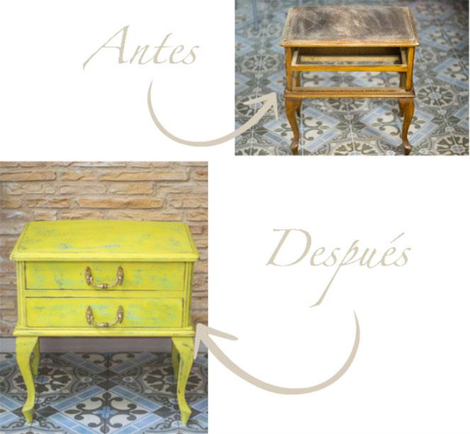Como recuperar mobiliario Vintage 1