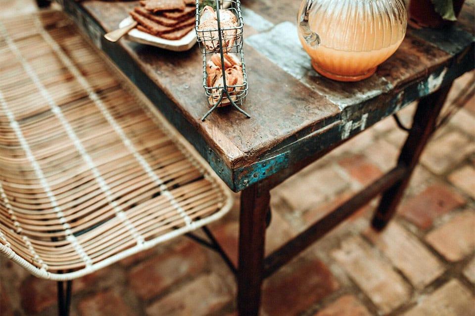 Las claves para diseñar tu terraza llena de detalles vintage