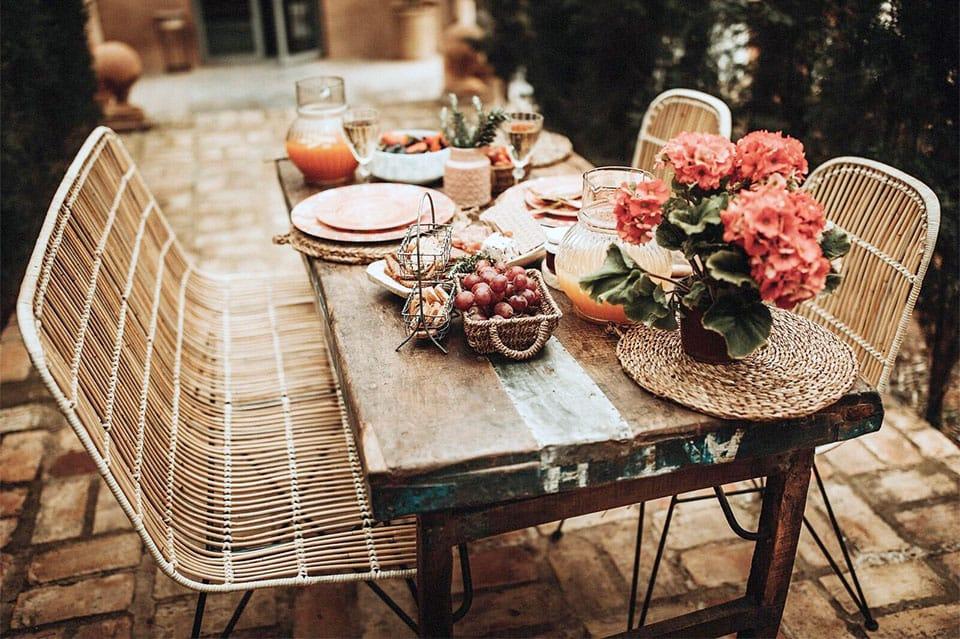 Consejos para diseñar tu terraza llena de detalles vintage