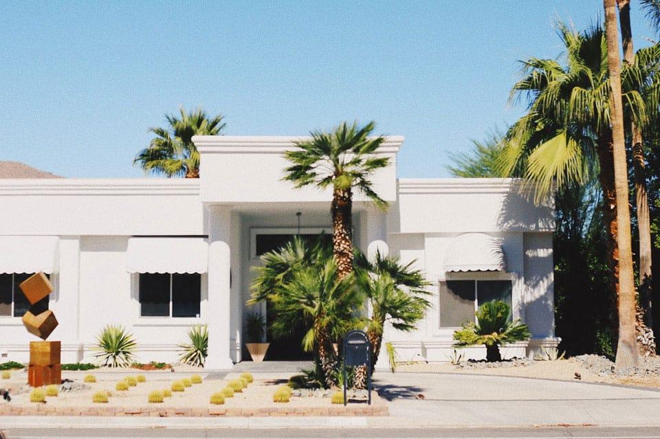El estilo Palm Springs