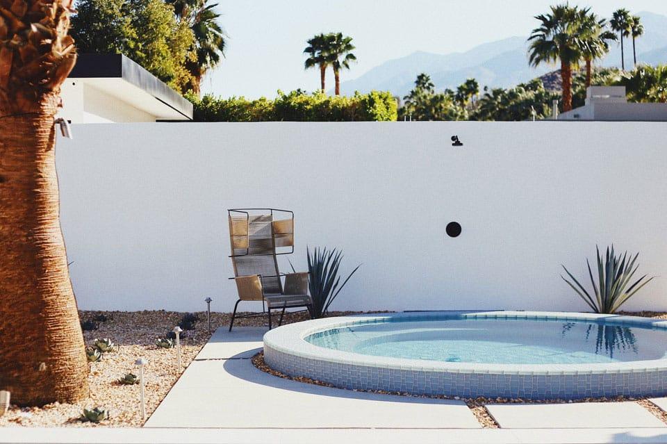 El estilo Palm Springs más allá de los 50. Una pequeña localidad situada en el desierto de California, que se convirtió en el referente del estilo Palm Springs.