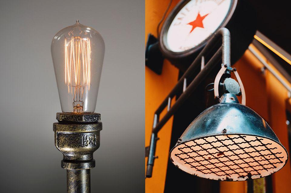 5 combinaciones de lámparas y muebles para un salón vintage 2