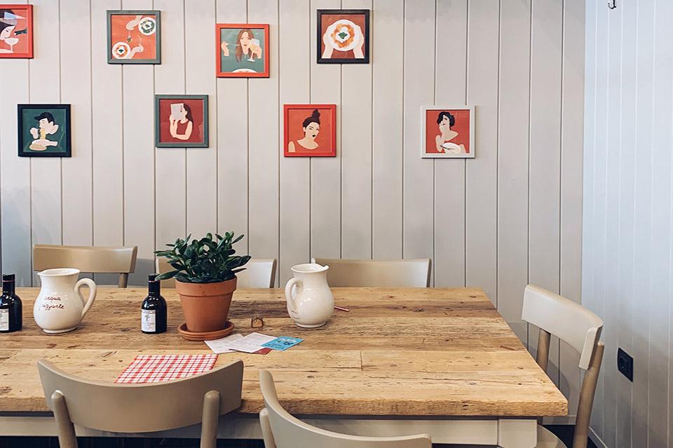 Tener una pared vintage en tu negocio es fácil si sabes como. 3