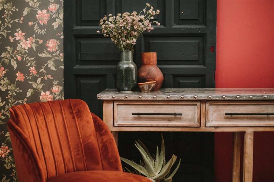 5 muebles auxiliares de estilo vintage para una entrada con personalidad 1